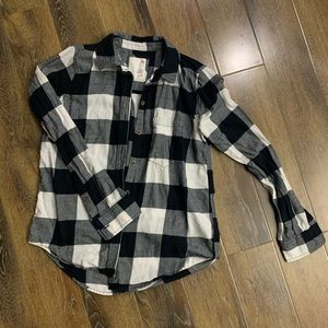 SO cozy flannel - xs